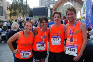 Team Cav in the Sheffield Half Marathon