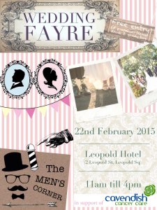 Wedding fayre poster