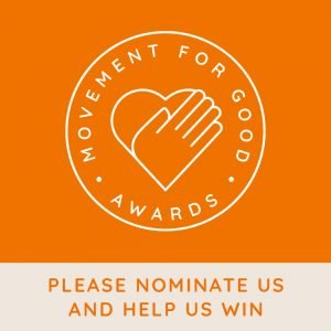 Help Us Win £1,000!
