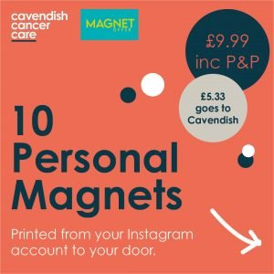 Get printed personal magnets straight from Instagram!