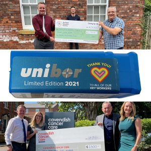 OSL Cutting Technologies raise £5,000 for charity!